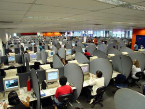 Call center office
