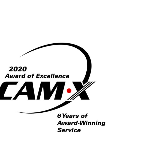 2020 CAM-X Award of Excellence