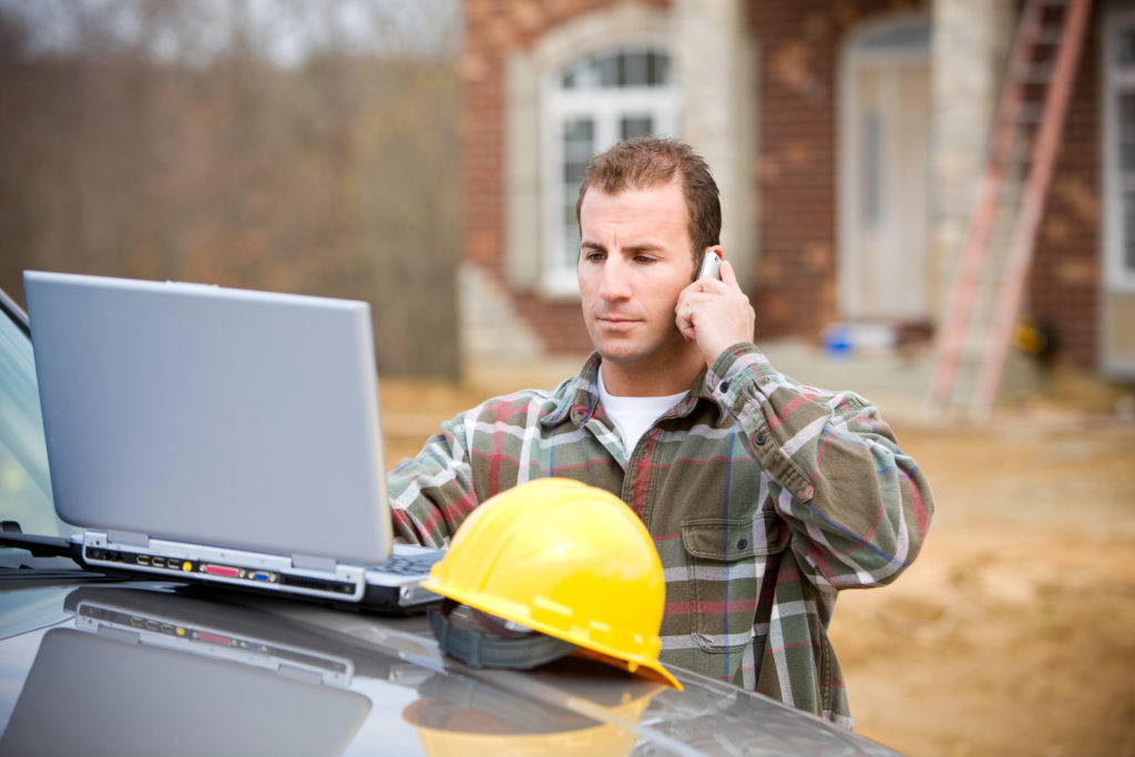 Contractor answering service