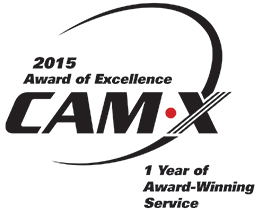 2015 CAM-X Award of Excellence