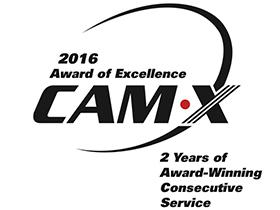 Cam X Award of excellence 2016
