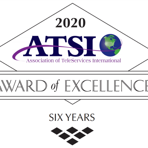 Anserve is awarded the ATSI 2020 Award of Excellence